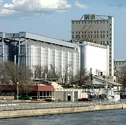 The Kherson port elevator